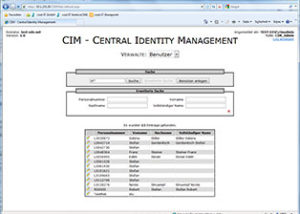 CIM Central Identity Management